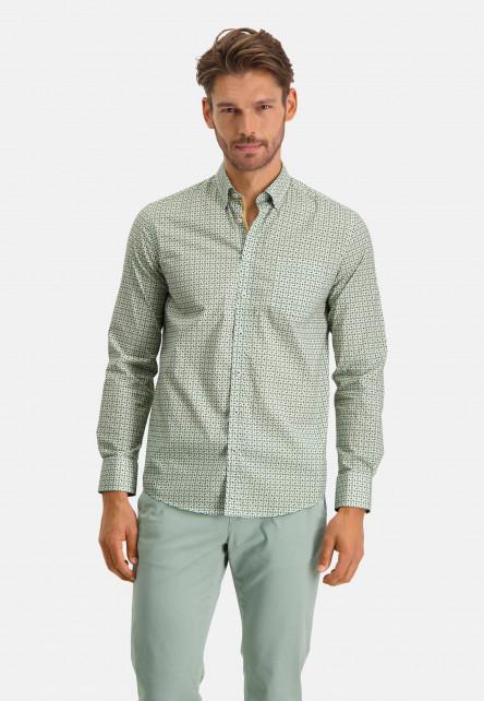 Shirt-Print---dark-green/sulphur