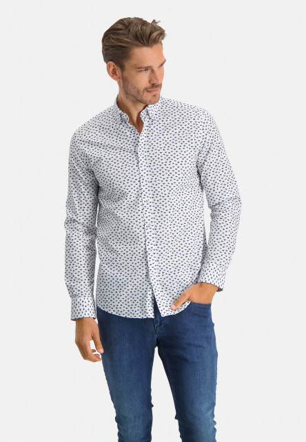 Shirt-with-a-print-all-over---pink/cobalt