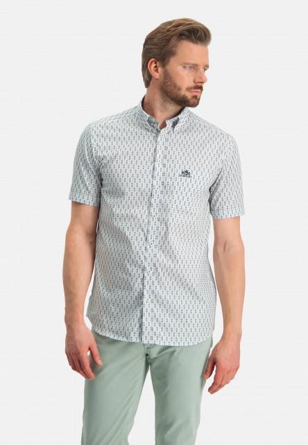 Shirt-Print---pink/dark-green