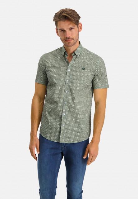 Shirt-Print---sulphur/emerald-green