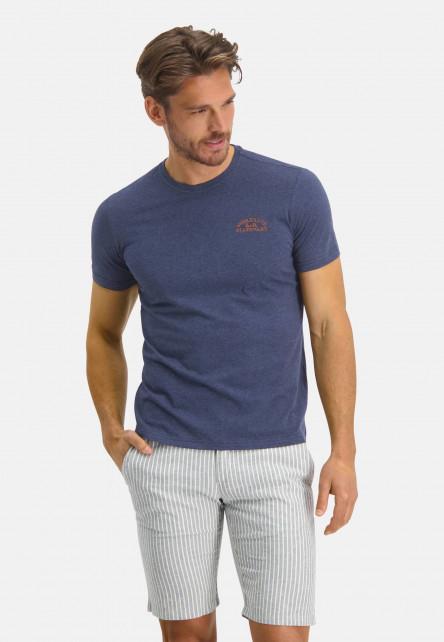 Cotton-T-shirt-with-an-artwork---midnight/mango