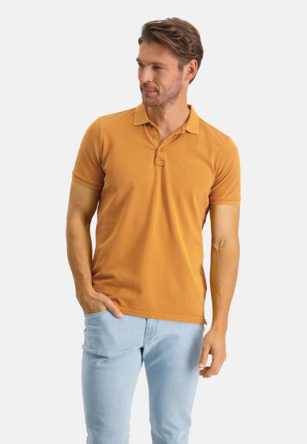 Polo-pique-with-regular-fit---mango-plain
