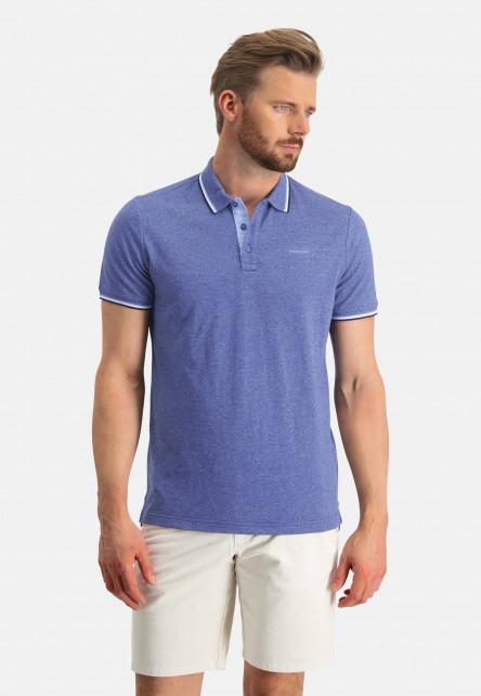 Poloshirt-Pique-Short-Sleeve-Plain---cobalt/mid-blue