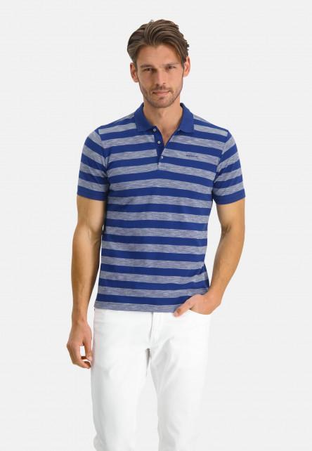 Short-sleeve-polo-made-op-organic-cotton---cobalt/white