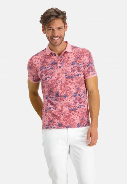 Polo-of-BCI-cotton---pink/brick