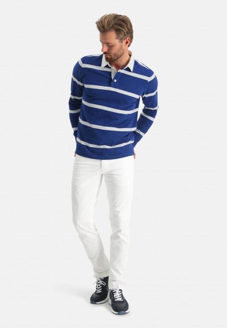 Rugbyshirt-of-organic-cotton---cobalt/greige