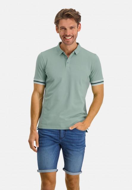 Poloshirt-Pique-Short-Sleeve-Plain---leafgreen-plain