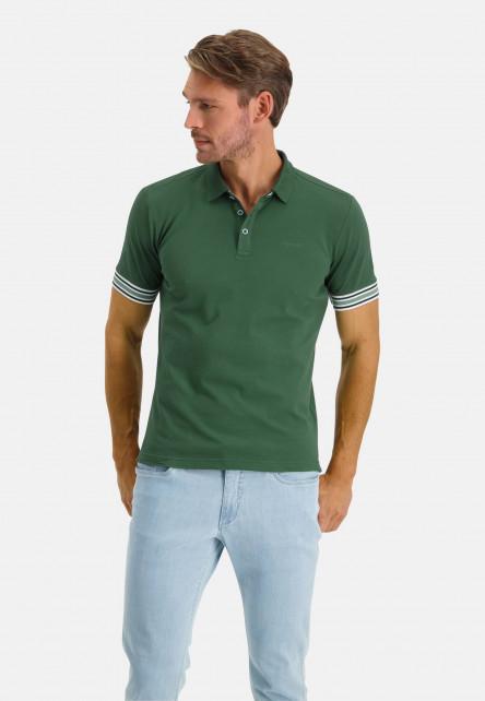 Poloshirt-Pique-Short-Sleeve-Plain---dark-green-plain