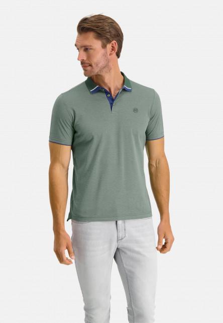 Poloshirt-Pique-Short-Sleeve-Plain---dark-green/emerald-green