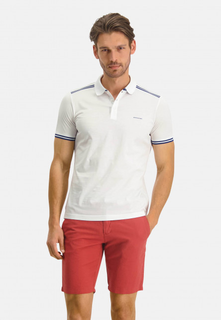 Poloshirt-Jersey-Short-Sleeve-Plain---white-plain
