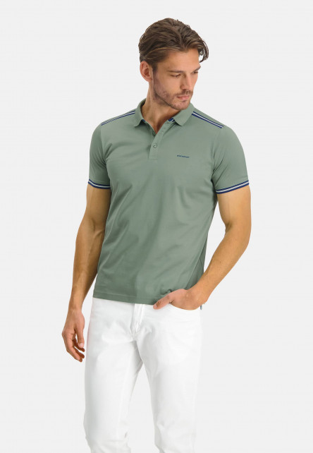 Poloshirt-Jersey-Short-Sleeve-Plain---leafgreen-plain