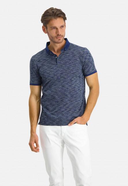 Poloshirt-Jersey-Short-Sleeve-Fancy---cobalt/midnight