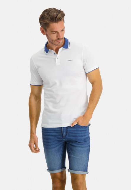 Polo-made-of-100%-Supima-Cotton---white/cobalt