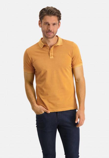 Poloshirt,-Piqué,-kurzarm,-uni---mango-uni