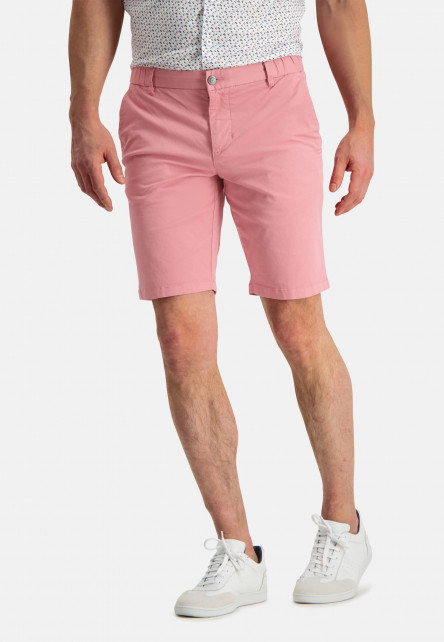 Shorts-in-a-chino-look---pink-plain
