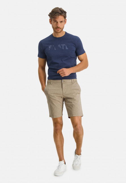 Bermuda-Printed---Solid-Twill---With-Stretch---sand-plain