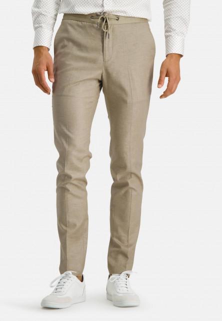 Jogging-trousers---sand-plain