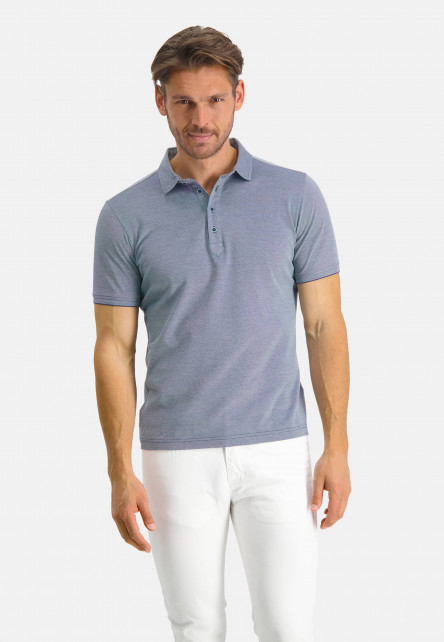 Modern-Classics-polo-with-short-sleeve---cobalt/white