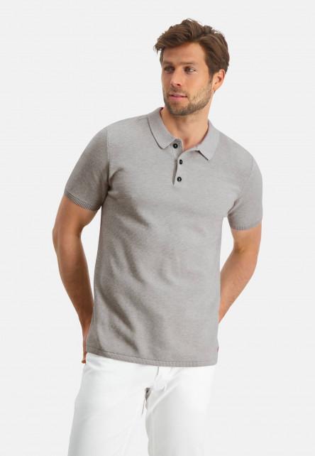 Modern-Classics-polo-of-Pima-cotton---greige-plain