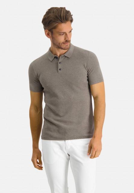 Modern-Classics-polo-of-Pima-cotton---buff-plain