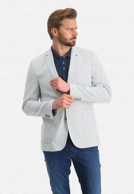 Striped-blazer-with-a-modern-fit---white/cobalt