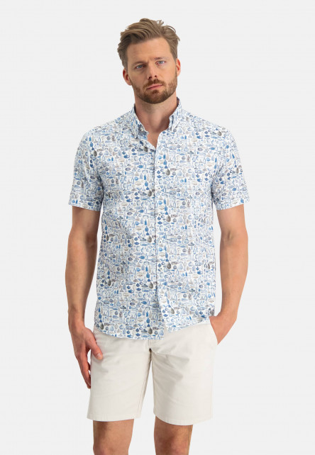 Regular-fit-shirt-with-a-bottle-print