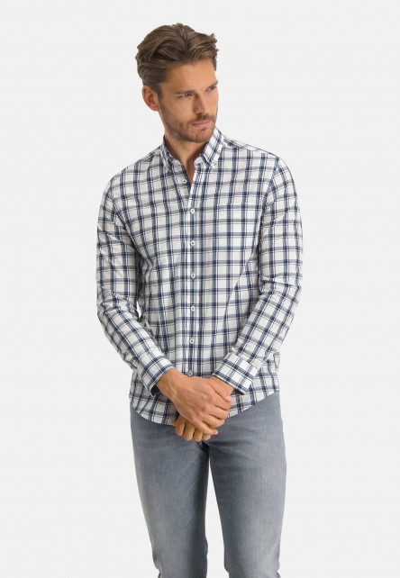 Cotton-shirt-checked
