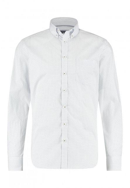 Chemise-à-regular-fit-et-col-boutonné