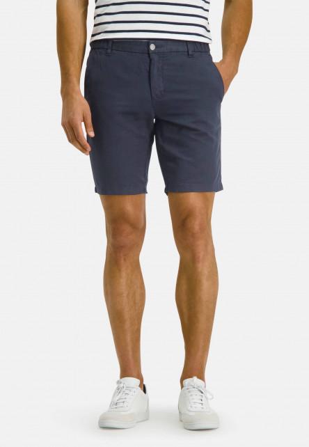 Shorts-of-a-linen-blend