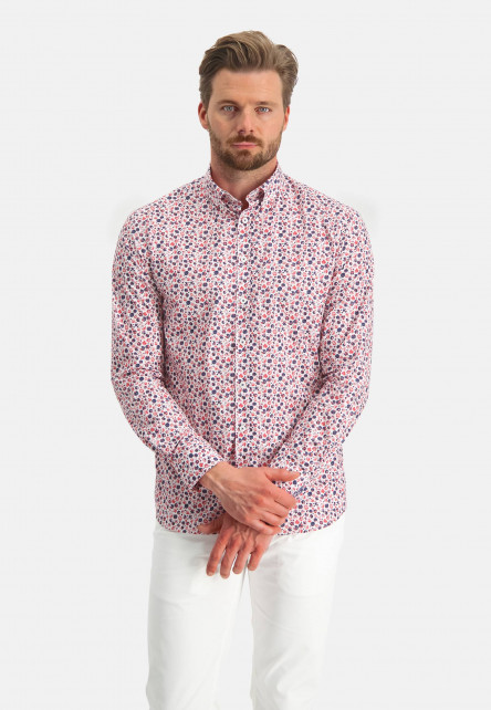 Stretch-shirt-in-cotton