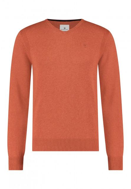 Pullover-V-Neck-Plain-with-a-logo