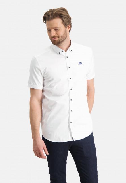 Plain-shirt-with-button-down