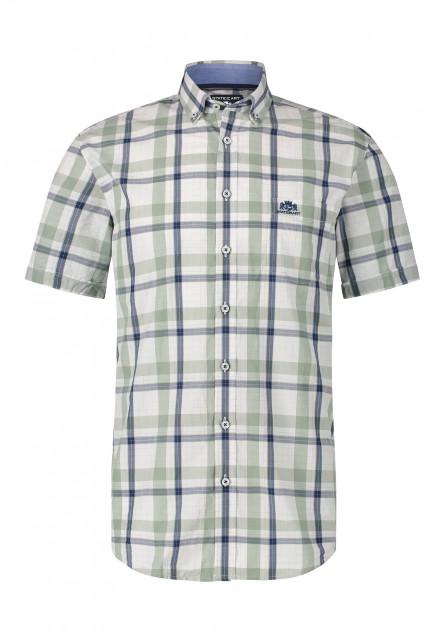 Hemd,-Baumwolle,-Button-Down