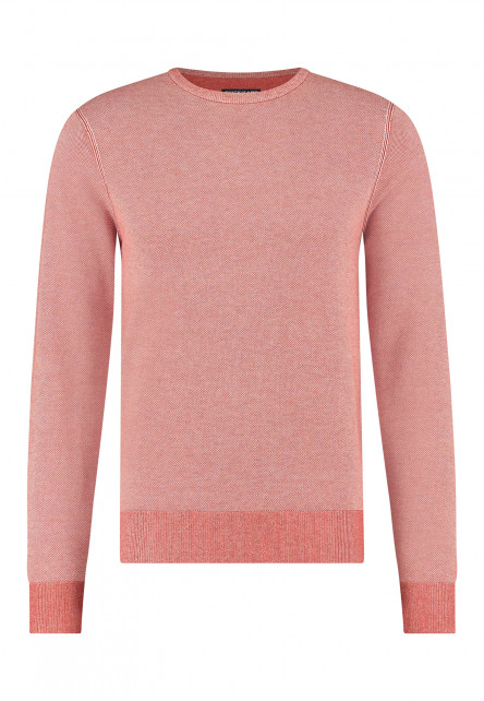 Pullover-Crew-Neck-Jacquard-with-oxford