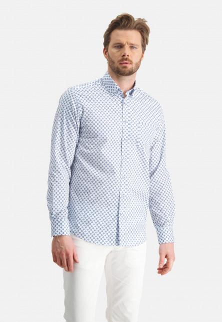 Hemd,-Druck,-regular-fit