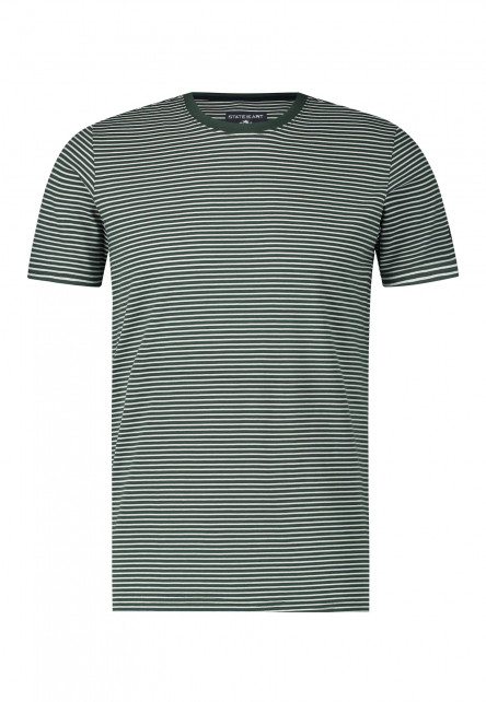 T-shirt-striped-with-crew-neck