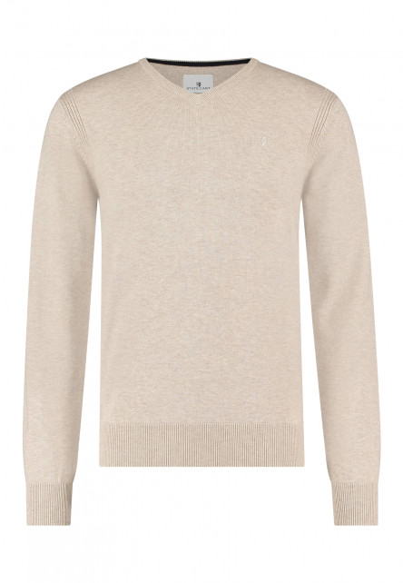 Pullover-V-Neck-Plain-with-a-logo