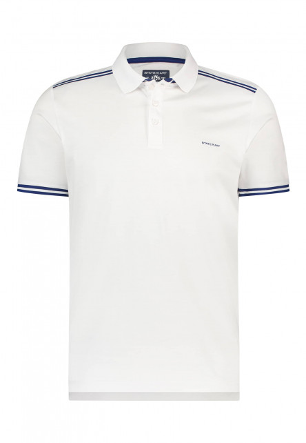 Poloshirt,-Jersey,-kurzarm,-uni