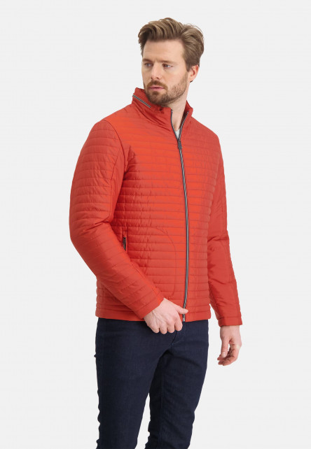 Manteau-doublé-à-regular-fit