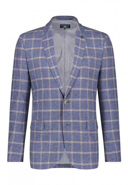 Checked-blazer-with-modern-fit