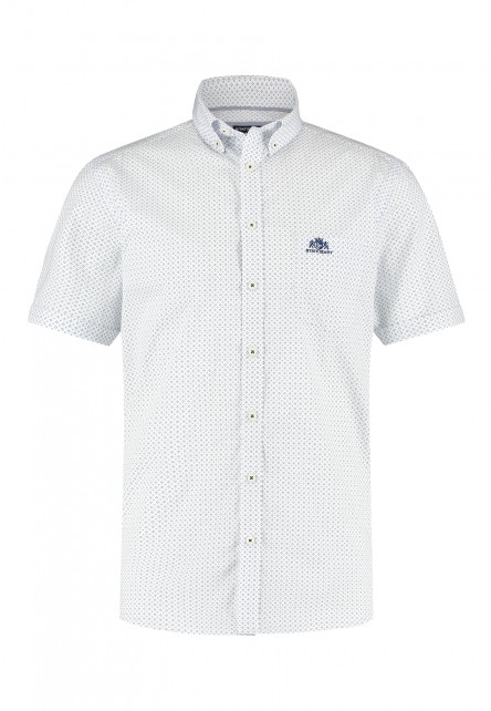 Button-down-shirt-with-short-sleeve