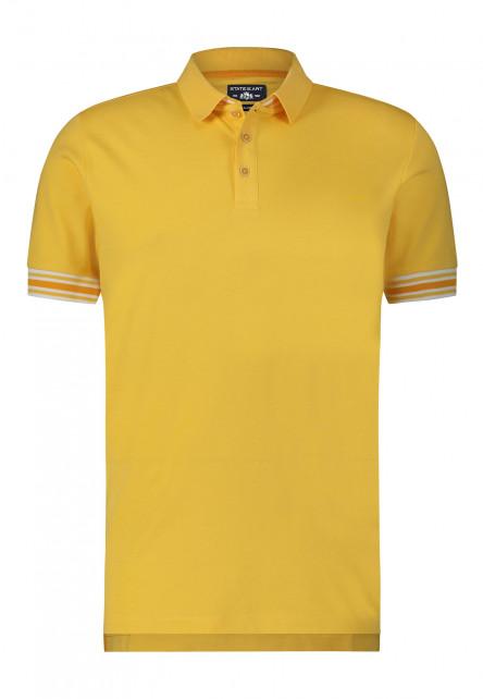 Polo-with-stripe-detail