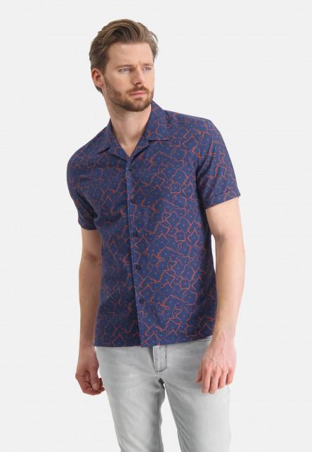 Shirt-of-a-linen-blend