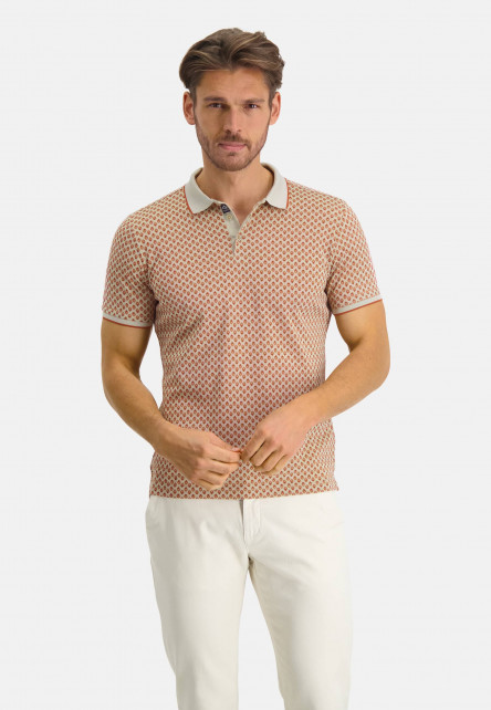 Polo-with-an-all-over-print