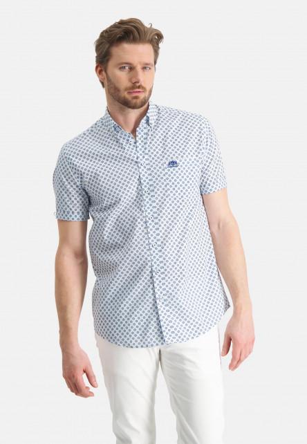 Hemd,-Brusttasche,-kurzarm