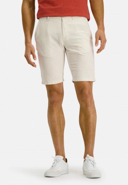 Shorts,-Streifen,-regular-fit