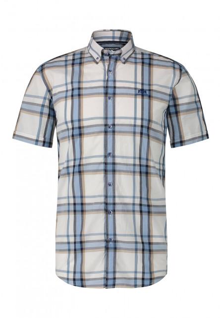 Short-sleeve-shirt-made-of-linen