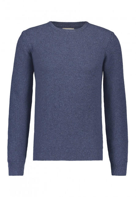 Pullover,-Recycelte-Baumwolle-Mix,-uni