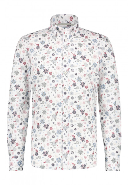 Stretch-shirt-with-floral-print