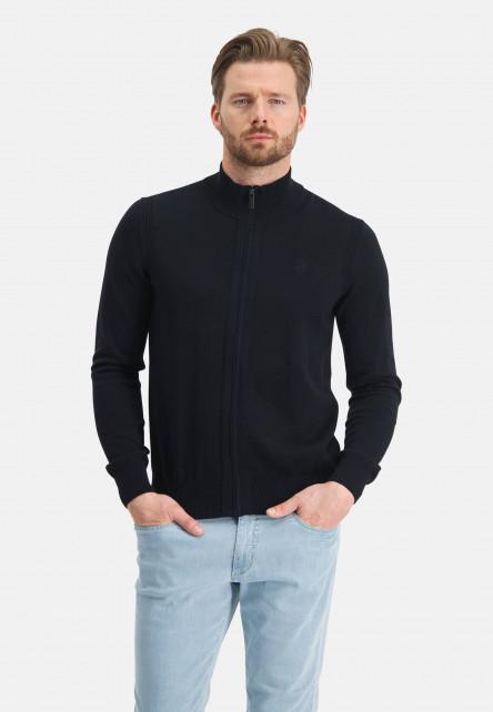Cardigan-of-organic-cotton